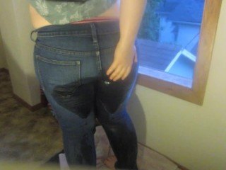 Teen Dowsing All Over Tight Jeans