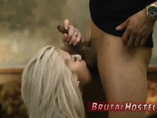 Blindfold Villeinage Fianc' Dispirited Big-breasted Blondie Hottie Cristi Ann Is On