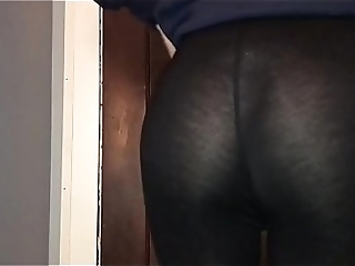 See Thumb Leggings Thong
