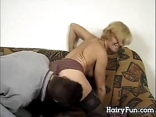 Hairy European Granny Superior To Before Neat As A Pin Younger Dick